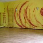 Sala do ćwiczeń w Szkole Jogi