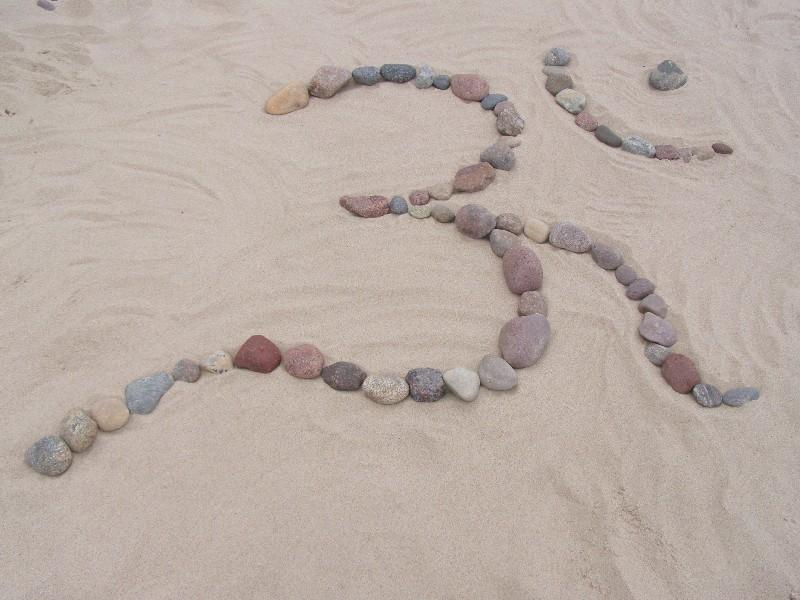 Aum - om z kamieni