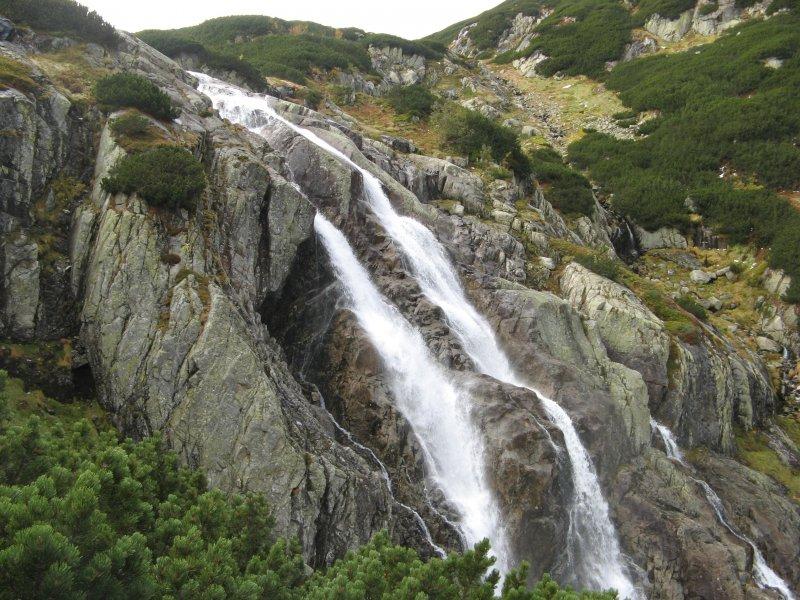 Wodospad - oczyszczenie