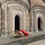 Praktyka jogi w Indiach