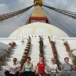 Praktyka jogi w Nepalu