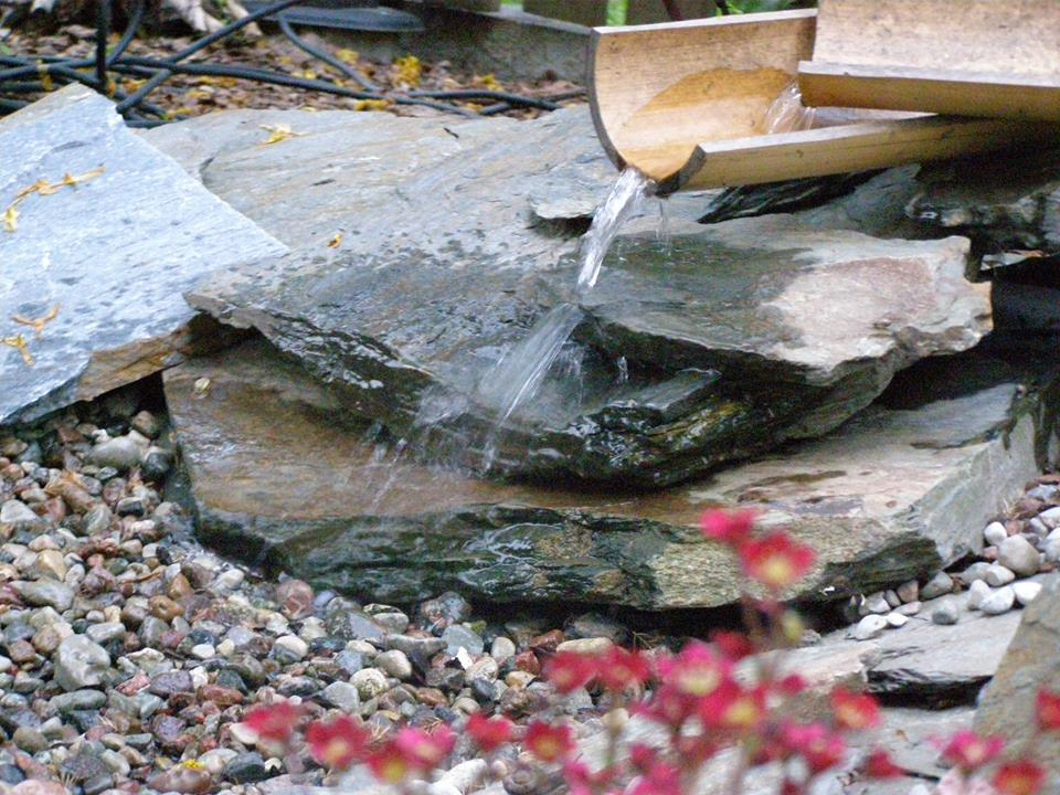 Wodospad w Szkole Jogi