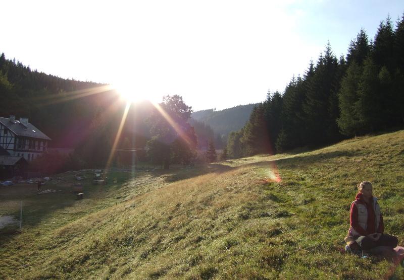 Medytacja w górach