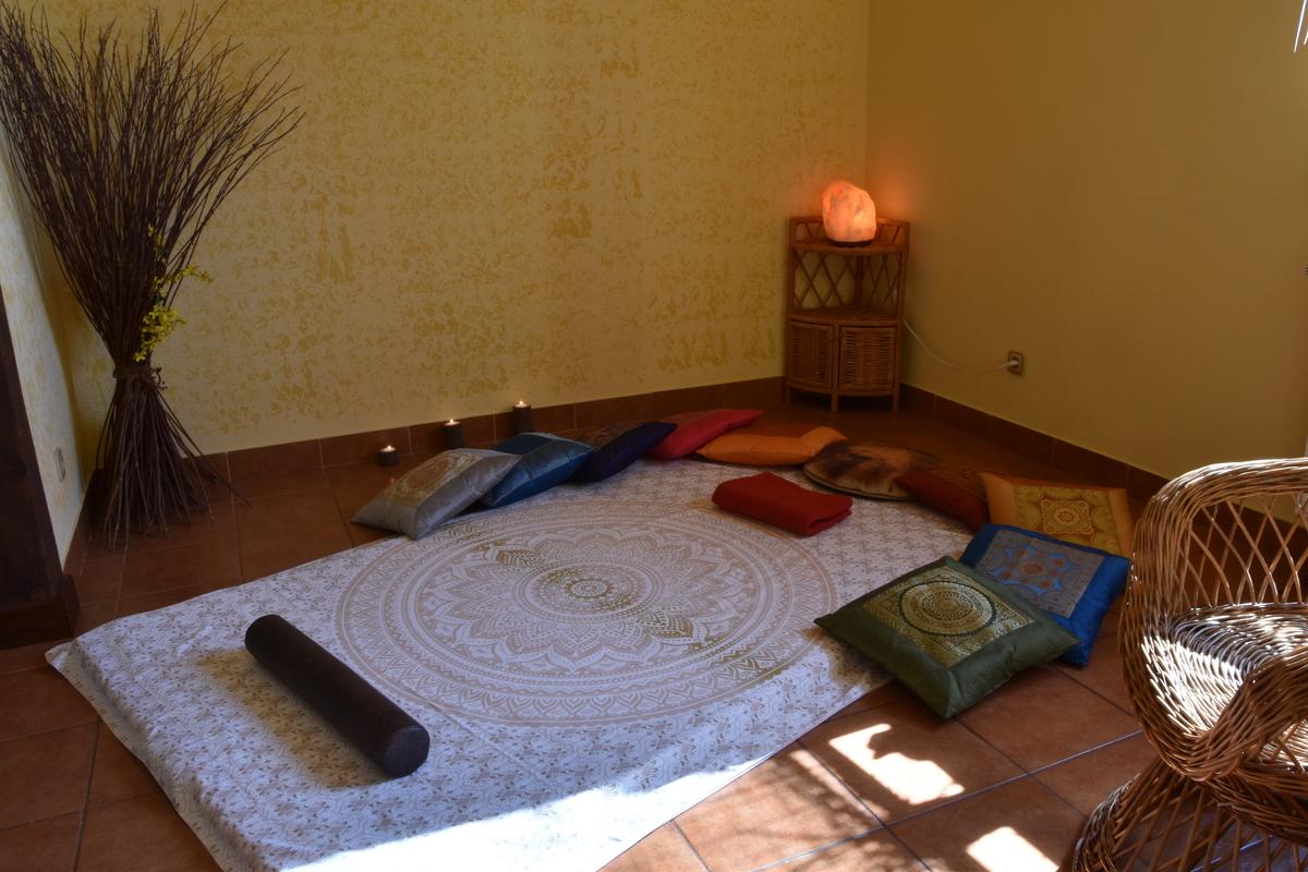 Gabinet masażu w Szkole Jogi Małgorzaty Piechowiak